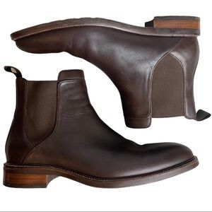 Cole Haan Grand.OS Chelsea Boots Brown Size 8.5M